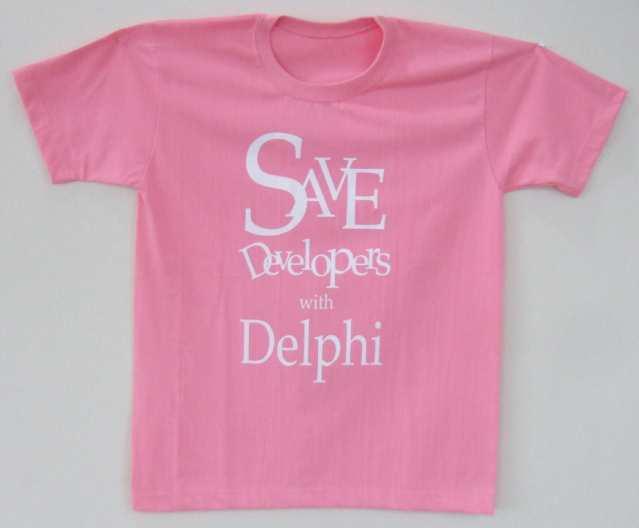 티셔츠 - 핑크